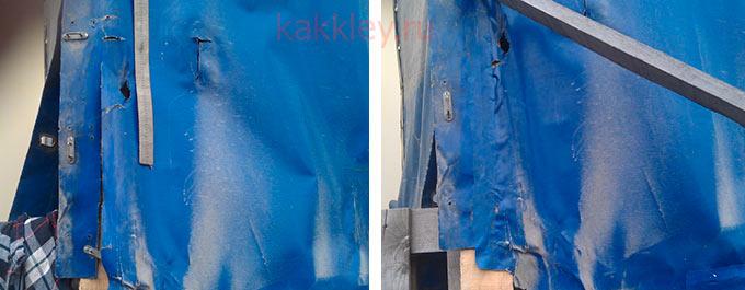 Инструкция по склеиванию тента