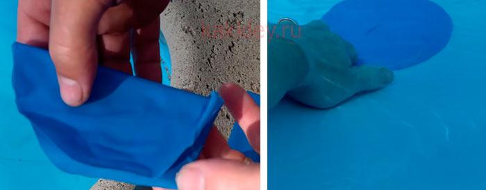 Как отремонтировать каркасный бассейн