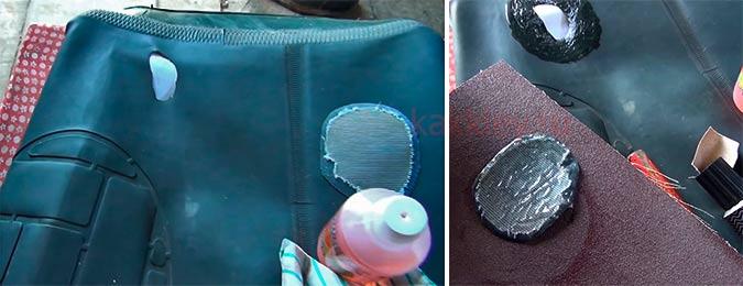 Что нужно для заклеивания резиновых сапог