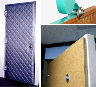 Как клеить шумоизоляцию на двери