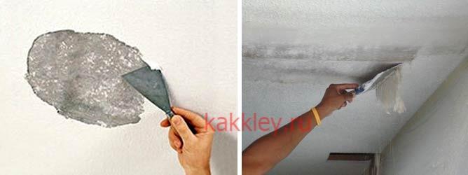 Можно ли клеить потолочную плитку на побелку