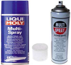 Клей аэрозольный Multi spray