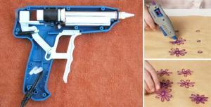 Как работает клеевой пистолет