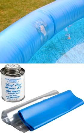 Чем заклеить надувной бассейн