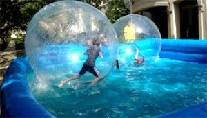 Как заклеить детский надувной бассейн