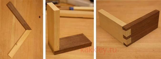 Технология склеивания древесины