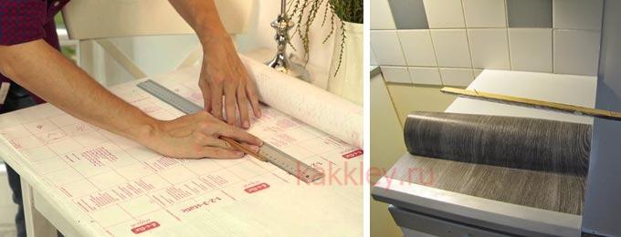 Какие есть секреты и специфика оклейки мебели пленкой