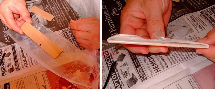 Чем склеить очки из пластика