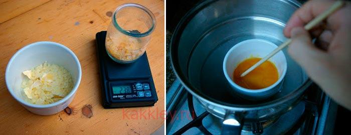 Как приготовить пищевой клей