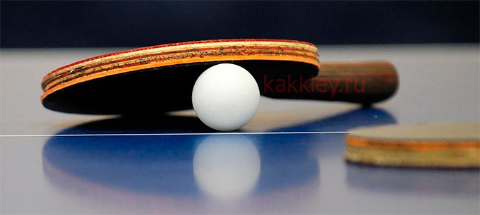 Как правильно клеить накладки на теннисную ракетку