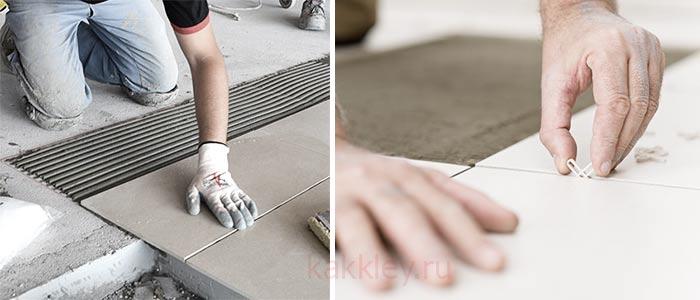 Инструкция по укладке напольной плитки