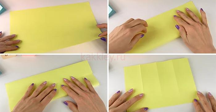 Инструкция по сборке блокнотика без клея