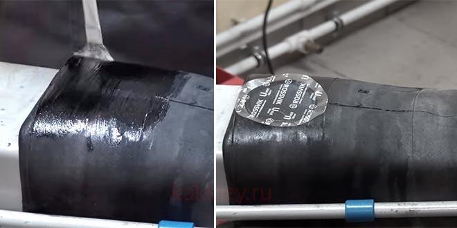 Как правильно ставить заплатку на камеру колеса