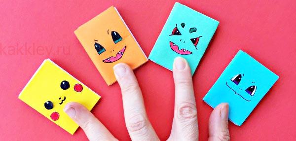 Как разрисовать блокнот из бумаги
