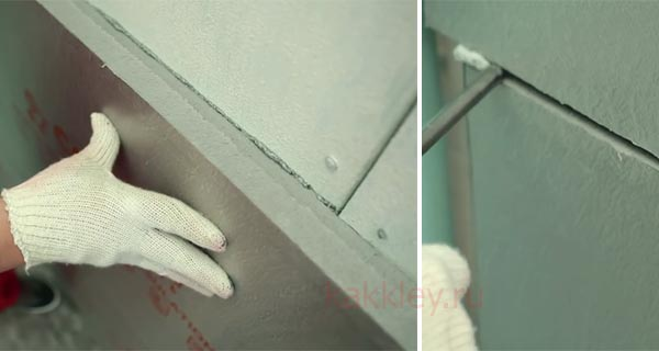 Как правильно клеить плиты из экструдированного пенополистирола