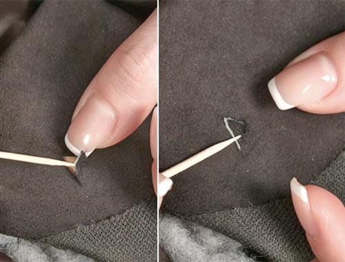 Как заклеить порез на кожанке