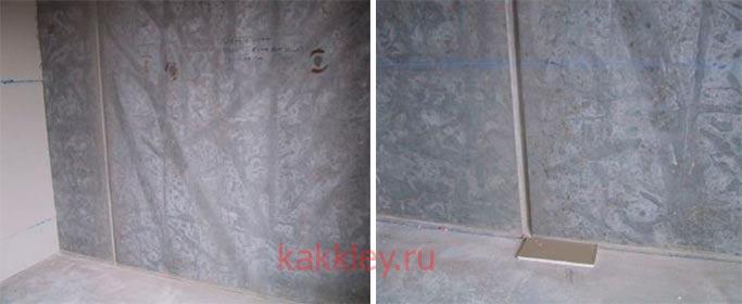 Как приклеить гипсокартон на бетон Перлфиком