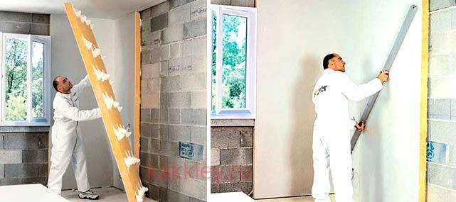 Как приклеить шумоизоляцию на стены в квартире