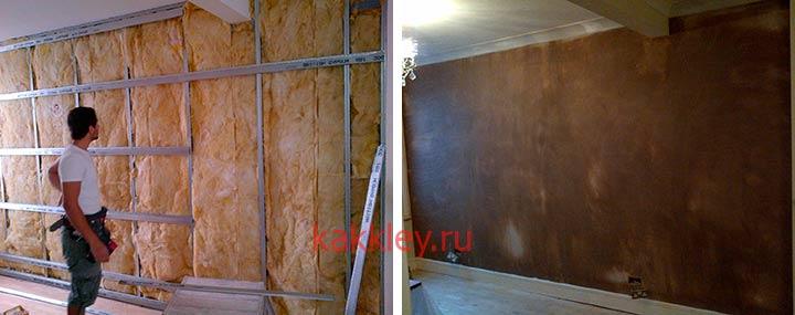 Как сделать шумоизоляцию на стенах