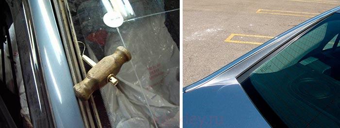 Поэтапная замена авто стекла
