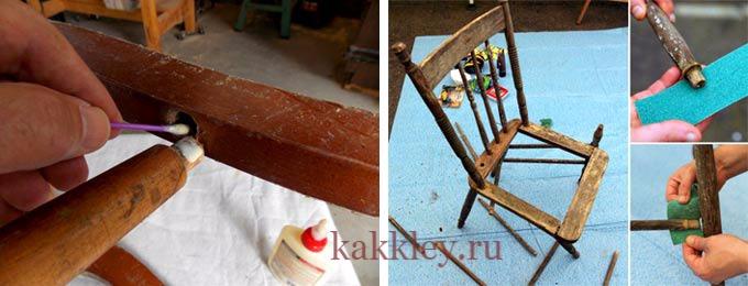 Чем склеить деревянный стул — какой клей использовать