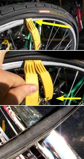 как заклеить колесо у гироскутера