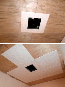 Как разметить потолок для плитки