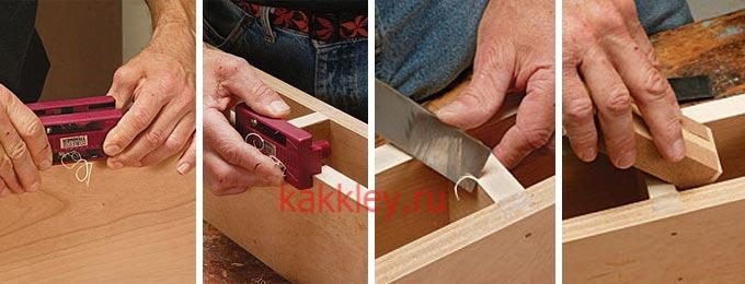 Как клеить шпон в домашних условиях - фото и видео инструкция