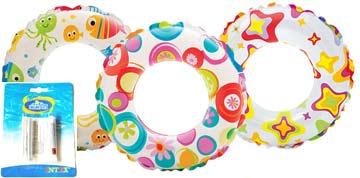 Чем заклеить надувной круг