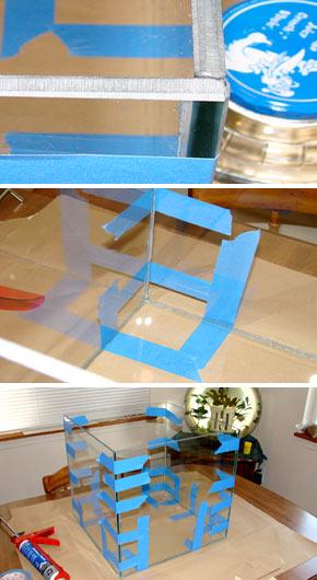 Чем склеить аквариум из стекла