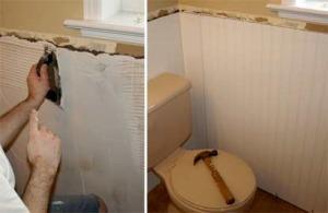 Клеим пластиковые панели в ванной