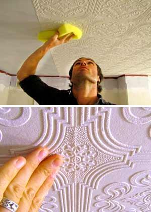 какой клей для обоев на потолок