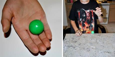 Как сделать попрыгунчик в домашних условиях. без клея