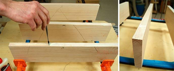 Каким клеем склеивают доски в мебельный щит