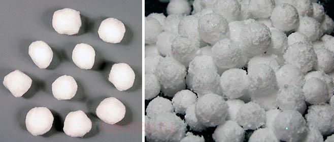 Снежки из ваты