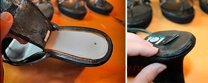 Как склеивать обувь наиритовым клеем
