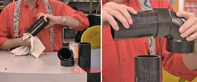 Как склеить деталь из АБС пластика