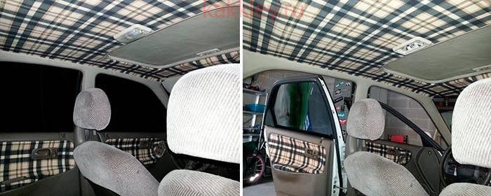 Как приклеить новую обшивку в авто вместо карпета
