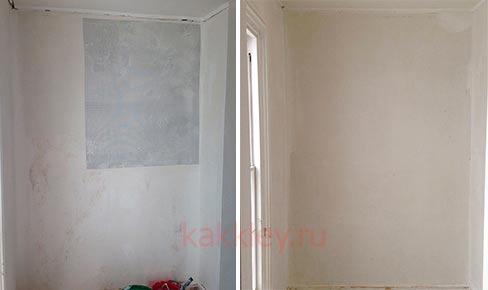 Как клеить паутинку на стену