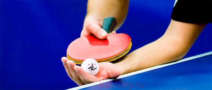 Как хорошо приклеить накладки на ракетку для настольного тенниса