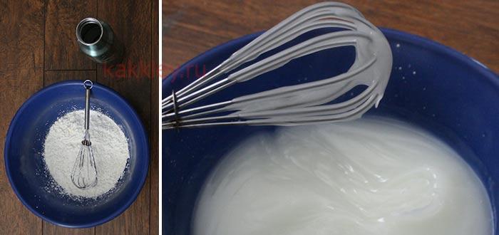 Как сделать домашний клей из муки и воды