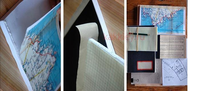 Как сделать простую обложку для клеевого блокнота