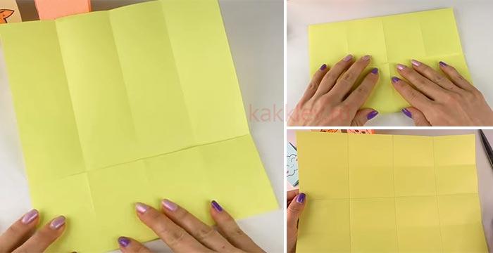 Как из 1 листа бумаги сделать блокнот своими руками 67