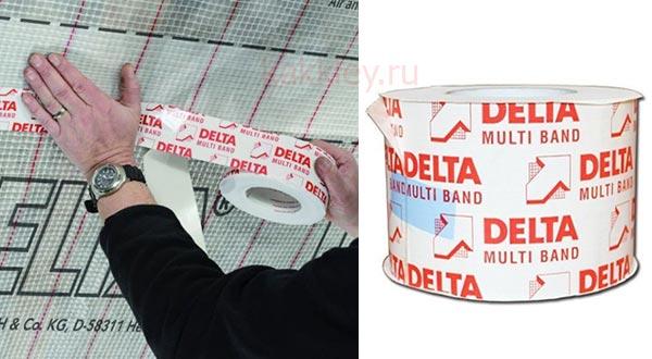 Клеящая лента для пароизоляции Delta Multi Band