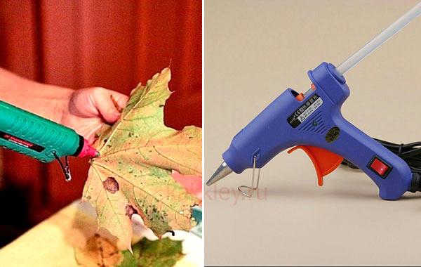 Какой клей лучше клеить поделки из листьев